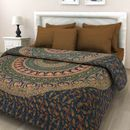 Jaipuri Traditional Bed sheet with 2 Matching Pillow Cover_MT12038