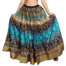 Carrel Imported Polly Cotton Fabric Printed Long Skirt For Women.