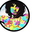 Jim Morrison Wall Clock