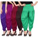 Culture the Dignity Women's Lycra Dhoti CTD_00VP1MB2G_1_VIOLET_PURPLE_MAROON_BROWN_GREEN_FREESIZE