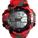 V-Luma Army Digital with Light Sports Watch Red