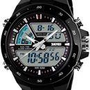 Skmei Sports Analog-Digital Watch - For Men Black