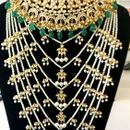Indian Bollywood Style Kundan only Long  Necklace
