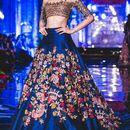 Stylish Designer Bollywood Party Blue Lehenga Choli