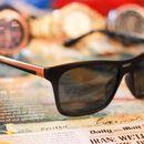 black and black stylish sunglasses FS- 01110