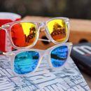 white and orange and blue combo stylish sunglasses 01458