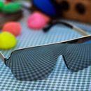 Gold and silver stylish aviator sunglasses 1909