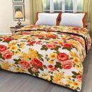 V Brown Cotton Single Bed Dohar_VBSBD022