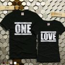 Couple One Love Tshirt