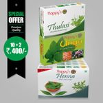 Happy's Henna Soap (Pay for 10 Get 12 Combo Offer)