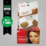 Happy's Mugakanthi Soap (Pay for 10 Get 12 Combo Offer)