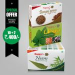 Happy's Neem Soap (Pay for 10 Get 12 Combo Offer)