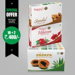 Happy's Papaya Soap Soap (Pay for 10 Get 12 Combo Offer)