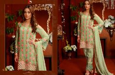 women premium heavy embroidery classic pakistani style designer salwar suit  dress material for festive season