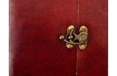 Floft Studio Handicraft Leather Diary with metal lock and HandMade Paper