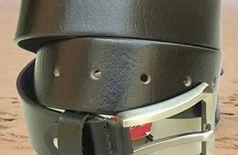 Leather belt for men stylish