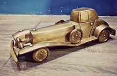 Brass Old Look Decorative Motor Car