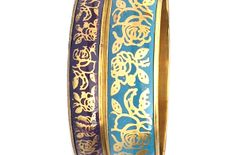CZFashions Turquoise Bangle Set
