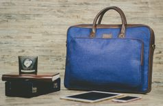 Zouk BlueDots Laptop Bag