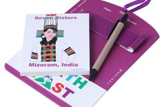 Toshakhana 312 Door Note Pad Mizoram North East India