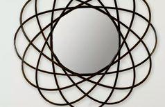 Circular Iron Mirror
