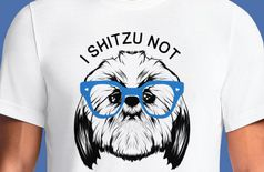 I Shitzu Not T-Shirts For Men