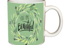 Shopbuzz You are beautiful printed coffee mug
