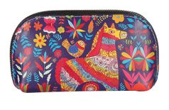 Fiona Trends Multicolor Blue Horse Design Clutch For Women 02