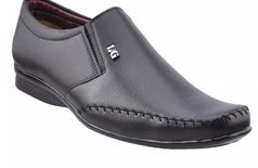 NAUK hand made leather formal derby black shoes for classic men