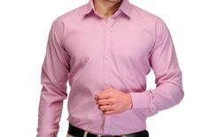 Koolpals men's formal shirts kpms_FD02PNK