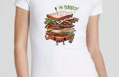 Sandwich women Tshirt
