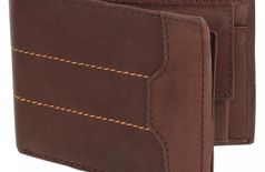 Men's Brown Genuine Leather Wallet (G-02)