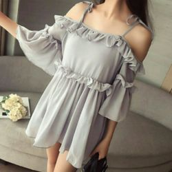 Simple summer Korea new fashion women shirt