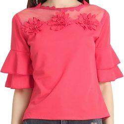 6e8544cd467 68% Off buynewtrend-gajri-cotton-blend-floral-1558614855