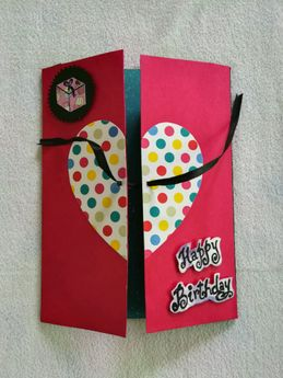 Buy handmade greeting cards online in india at best prices personalised gift accessories handmade greetings card m4hsunfo