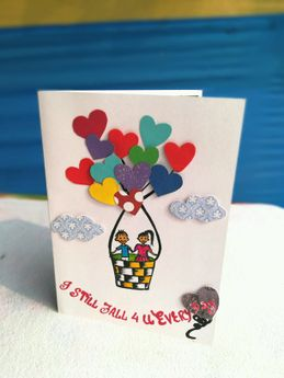 Buy mini greeting cards online in india at best prices others personalised gift accessories birthday love greetings card m4hsunfo