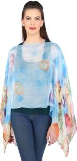 Buy Poncho gown Online in India at Best Prices - Women Western Wear