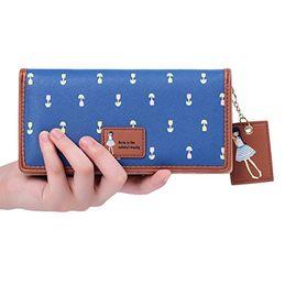 Women Clutches   Wallets - MOCA s (Tulip s) Women s Wallet Clutch Long  Purse Hand Purse 8b45d40acd