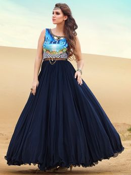 Buy Long Fish Cut Gowns Online In India At Best Prices Mobile