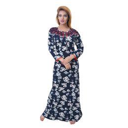 Women Women Nightwear Sleeping Story Womens Jursey Cotton Floral Printed Nighty 10370