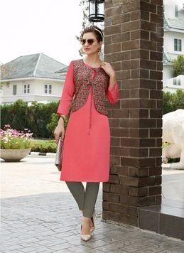 Buy Selfie Kurtis With Jacket Online In India At Best Prices Women