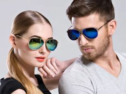 Sunglasses Blue ANd Golden Mercury AViator Combo Pack Of 2 Goggles For Unisex