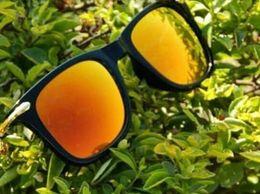 Fancy trendy Square Orange Goggles Sunglass