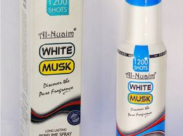 AL NUAIM WHITE MUSK 100ML1200 SHOTS PERFUME