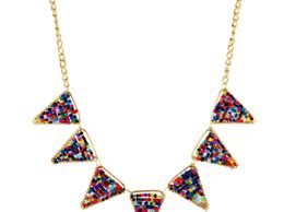 Aradhya Stylish Multi-colour Beads necklace for Women and Girls