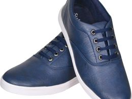 Sats Blue Vf Stylish Shoe