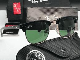 Sunglass luxury RB Club master Green Goldan Frame