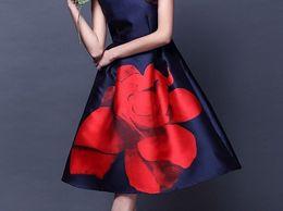 BMR Western Blue Printed Full Stitched Sexy Mini Dress Club Party Wear Frock Style Kurti