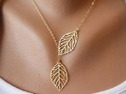 The little things Leaf Pendant