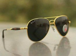 Gold and Black stylish sunglasses 086